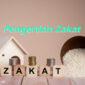 Pengertian Zakat