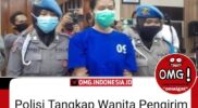 VIRAL! Polisi Tangkap Wanita