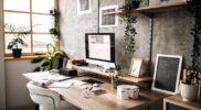 Membuat Kantor Rumah Anda Kondusif untuk Bekerja